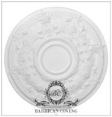 The Otranto Plaster Ceiling Rose 734mm